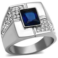 PR8145ZOC Pánsky prsteň z chirurgickej ocele 0743cd9da01