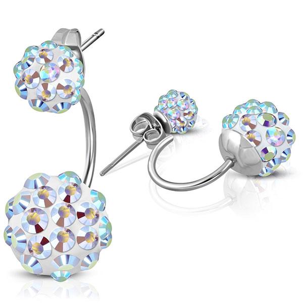 69cf379394f NA3690ZOC náušnice z chirurgickej ocele so zirkónmi : Šperky ...