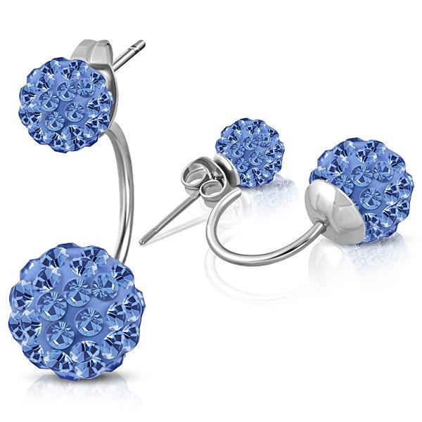 784d94f0e NA3691ZOC Náušnice z chirurgickej ocele so zirkónmi : Šperky ...