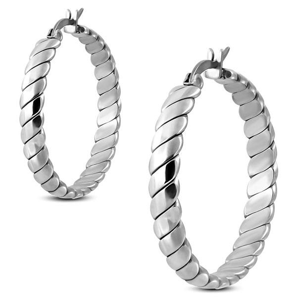 7a69c652e NA3723OC Kruhy - náušnice z chirurgickej ocele 3,2 cm : Šperky ...