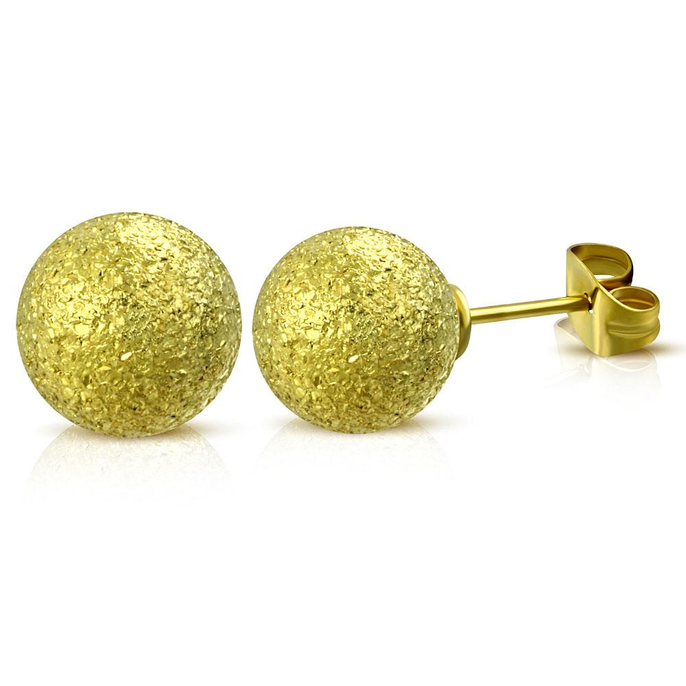 5f73e5282 NA3752GOC Náušnice z chirurgickej ocele Guľky : Šperky Swarovski ...