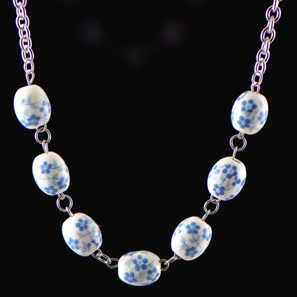 11f5c06d3 NH3300OC Farebný náhrdelník z chirurgickej ocele : Šperky Swarovski ...